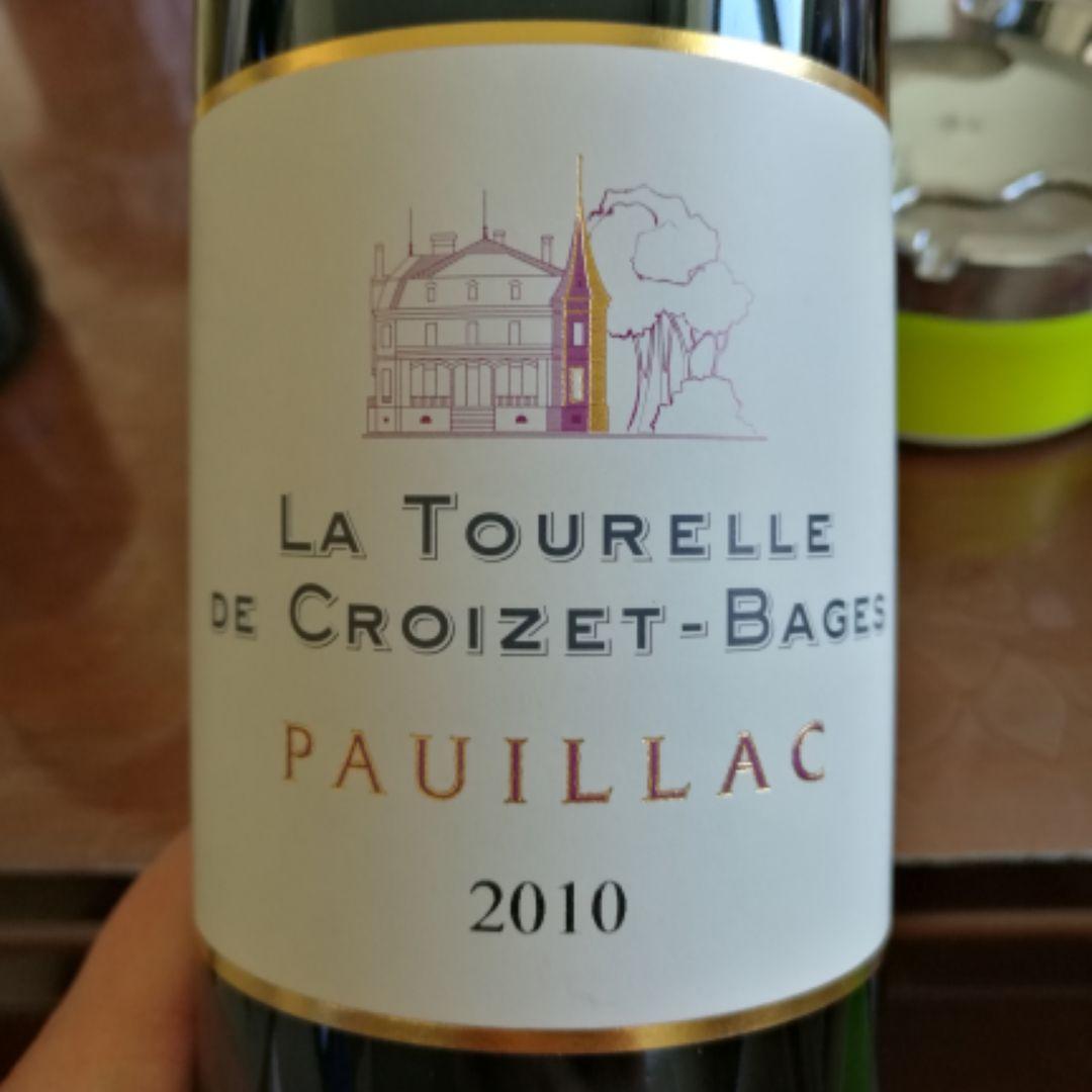 歌碧酒庄副牌干红La Tourelle de Croizet-Bages