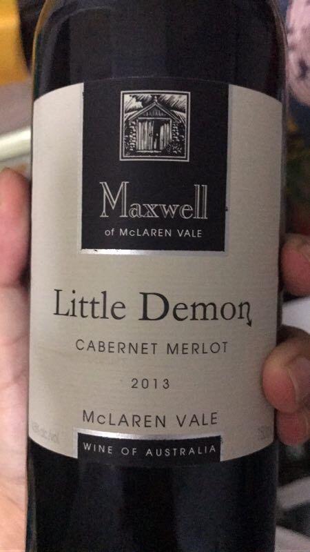 麦克斯韦小精灵干红Maxwell Little Demon Cabernet Merlot