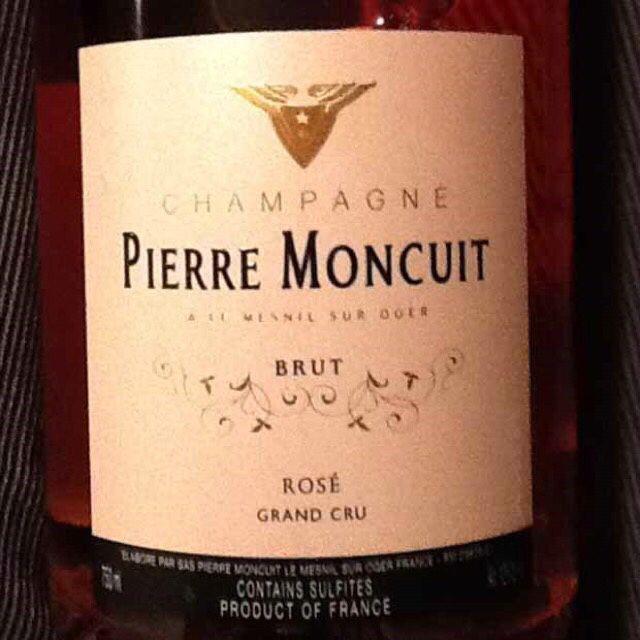 蒙库特酒庄特级园特酿干型桃红香槟Pierre Moncuit Grand Cru Cuvee Brut Rose