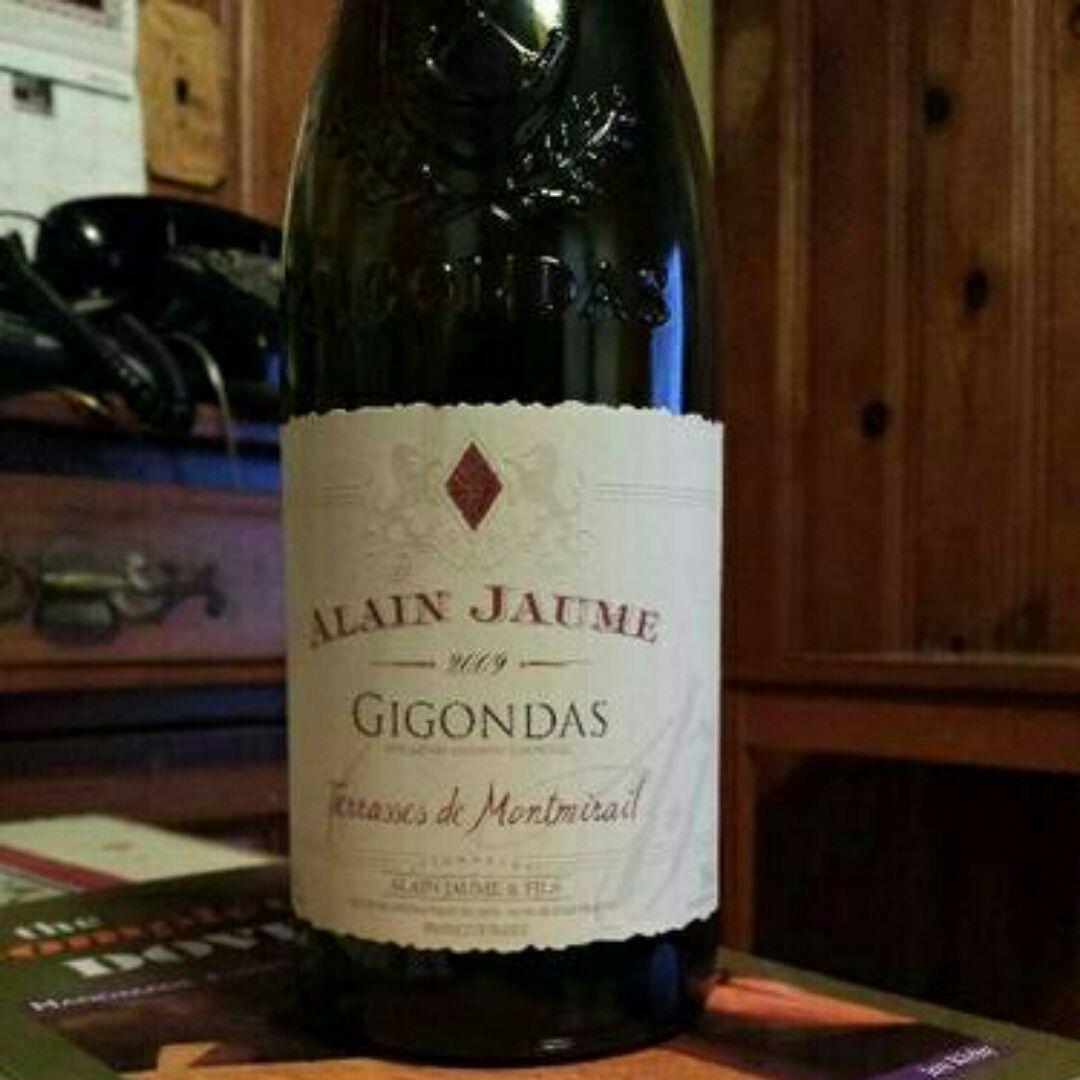 阿兰豪吉贡达蒙米拉伊山红葡萄酒Alain Jaume & Fils GIGONDAS Alain JAUME