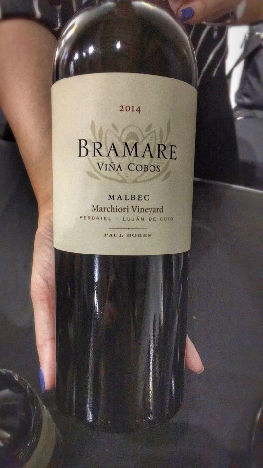 科沃斯百美系列蜜丝罗妮园赤霞珠干红Vina Cobos Bramare Marchiori Vineyard Cabernet Sauvignon