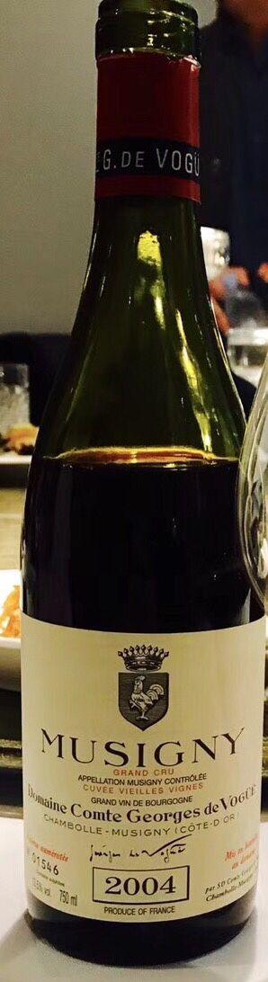 武戈公爵酒庄慕西尼干白Domaine Comte Georges de Vogue Musigny Blanc