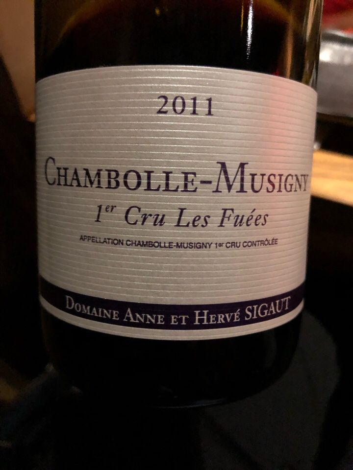 Domaine Anne et Herve Sigaut Chambolle-Musigny 1er Cru Les Fuees