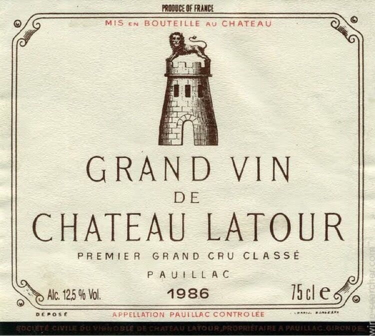 拉图酒庄干红Chateau Latour
