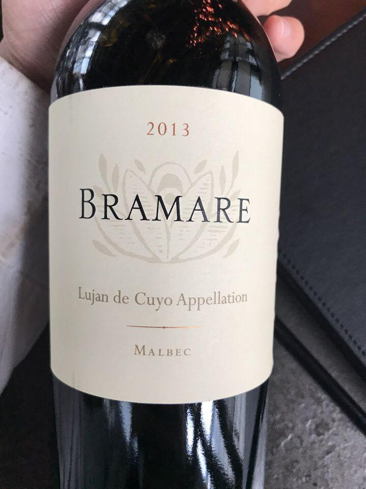 科沃斯百美系列优科谷马尔贝克干红Vina Cobos Bramare Uco Valley Malbec