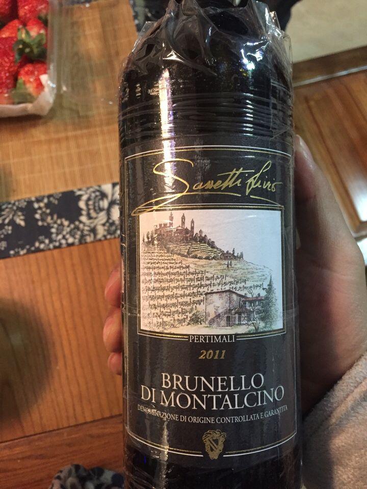 萨塞蒂布鲁奈罗蒙塔希诺干红Livio Sassetti Pertimali Brunello di Montalcino