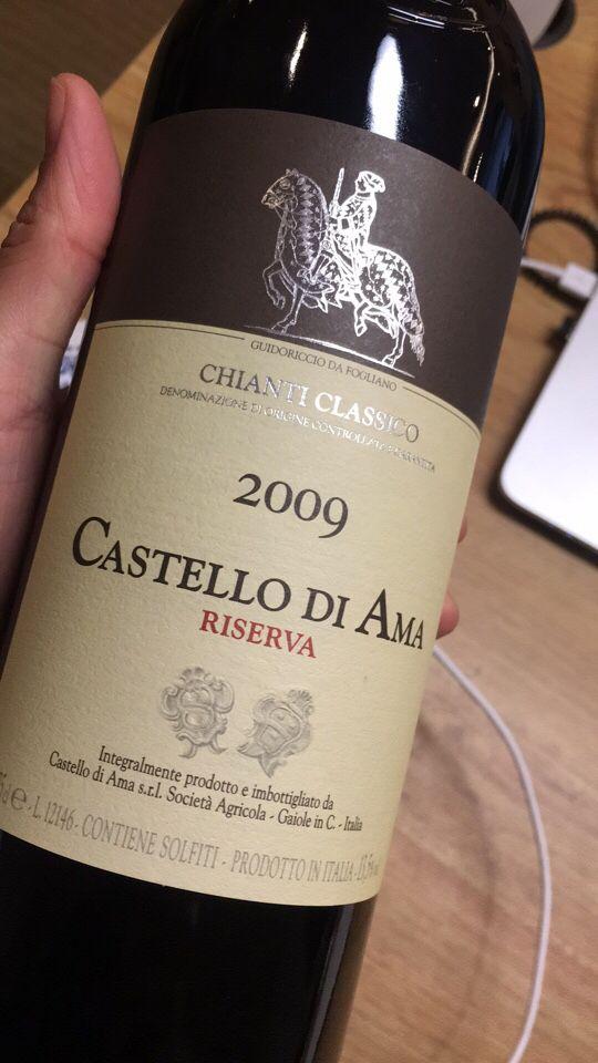 阿玛酒庄经典基安蒂干红Castello di Ama Chianti Classico