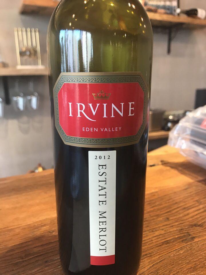 欧文酒庄庄园梅洛干红葡萄酒Irvine ESTATE Merlot