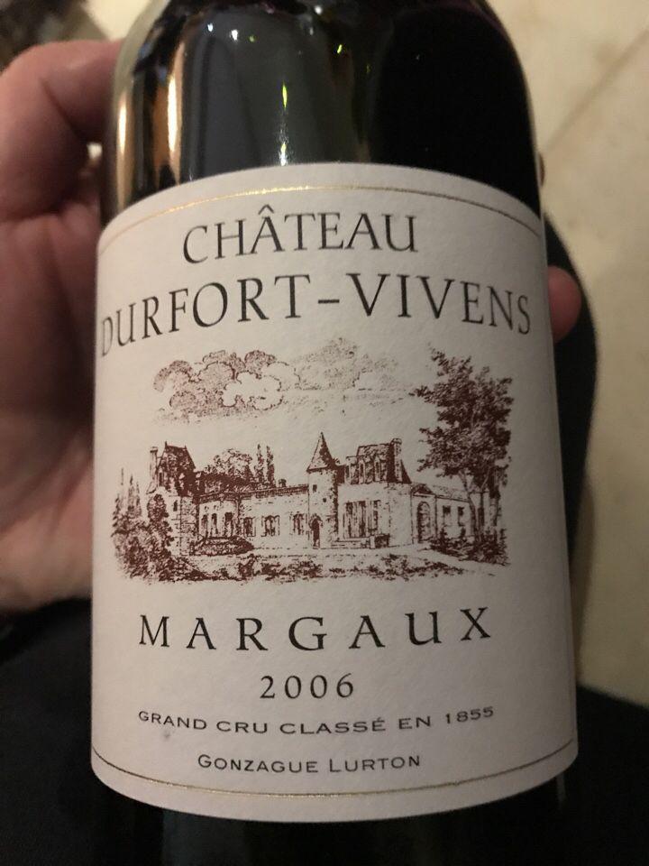 度韦酒庄干红Chateau Durfort-Vivens
