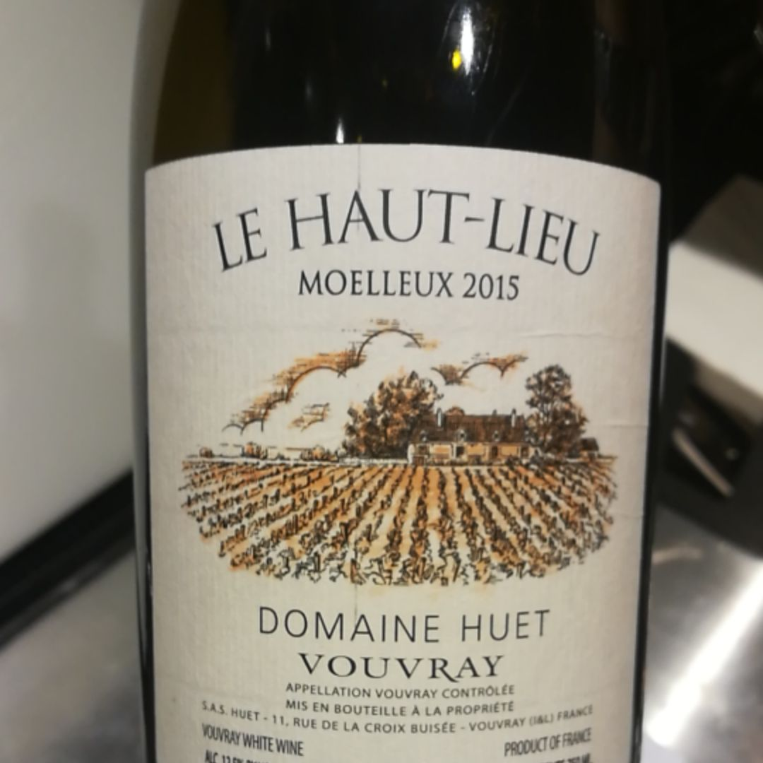 予厄高地园一级甜白Domaine Huet Le Haut-Lieu Moelleux Premiere Trie