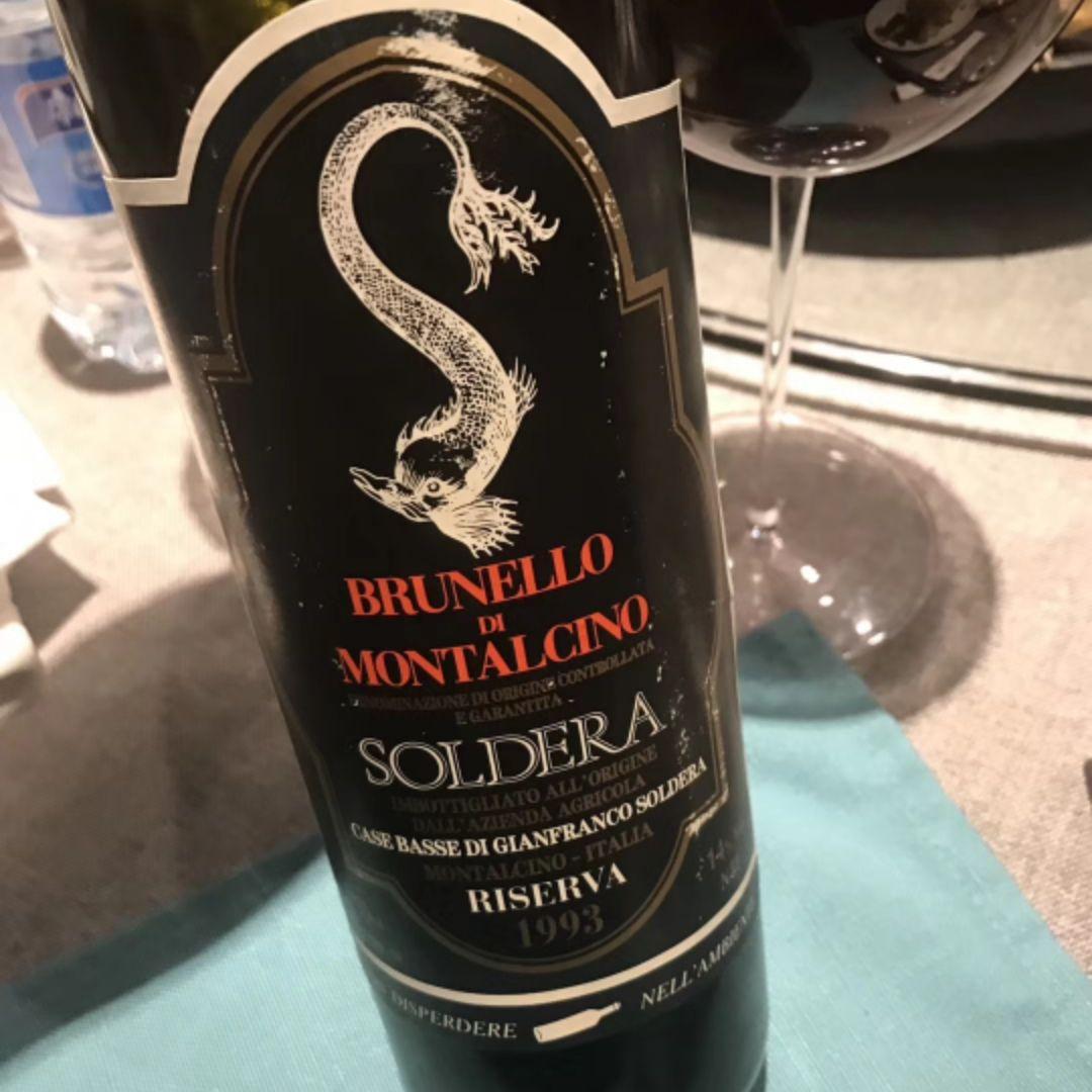 索得拉珍藏布鲁奈罗蒙塔希诺干红Soldera Brunello di Montalcino Riserva
