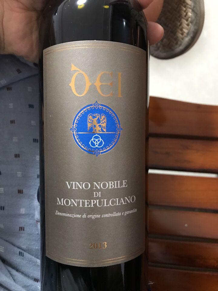 戴安酒庄蒙蒂普尔查诺贵族红葡萄酒Dei Vino Nobile di Montepulciano