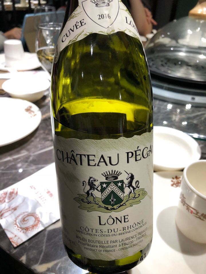 佩高酒庄隆河丘干白Chateau Pegau Cotes du Rhone Blanc