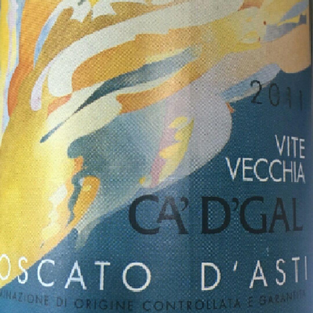 我的哥 维特维基亚 莫斯卡托阿斯蒂甜白葡萄酒Ca' d'Gal Vite Vecchia Moscato d'Asti DOCG