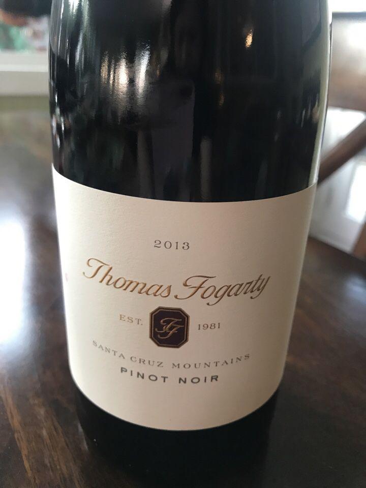 托马斯福格蒂拉普利小镇园M区黑皮诺干红Thomas Fogarty Rapley Trail Vineyard Block M Pinot Noir