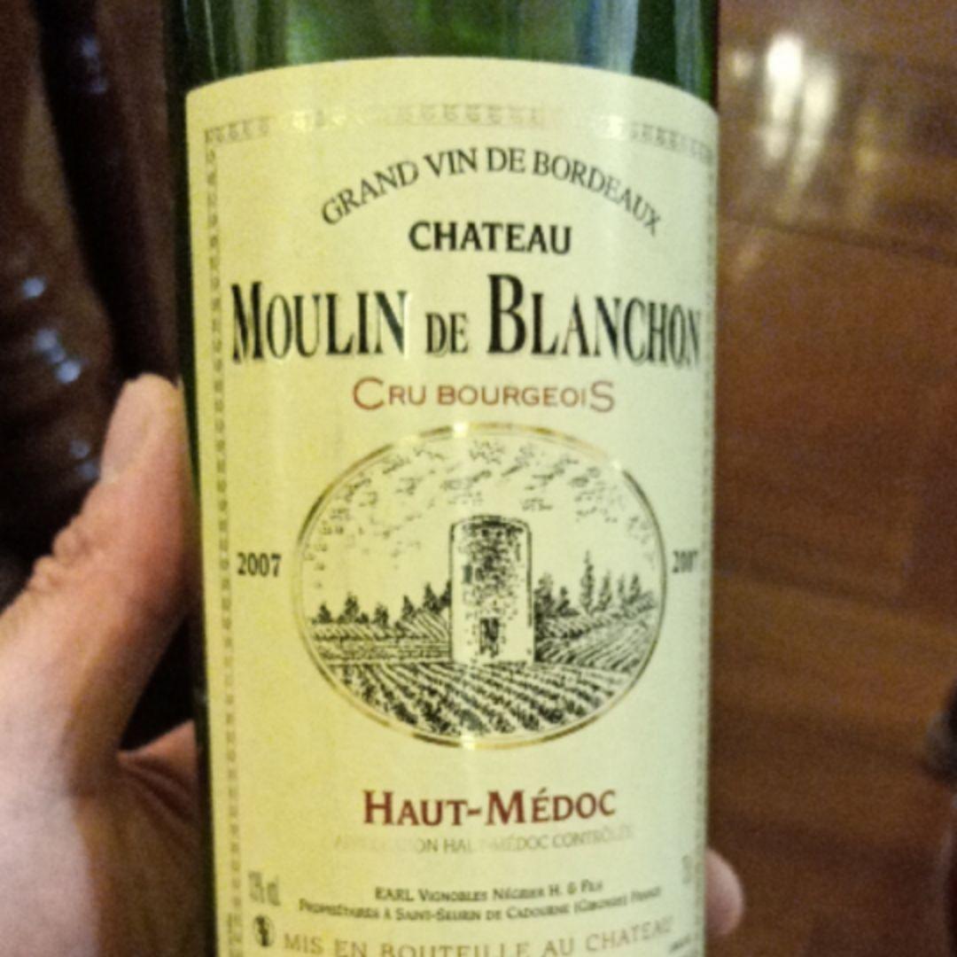 白豹酒庄干红Chateau Moulin de Blanchon