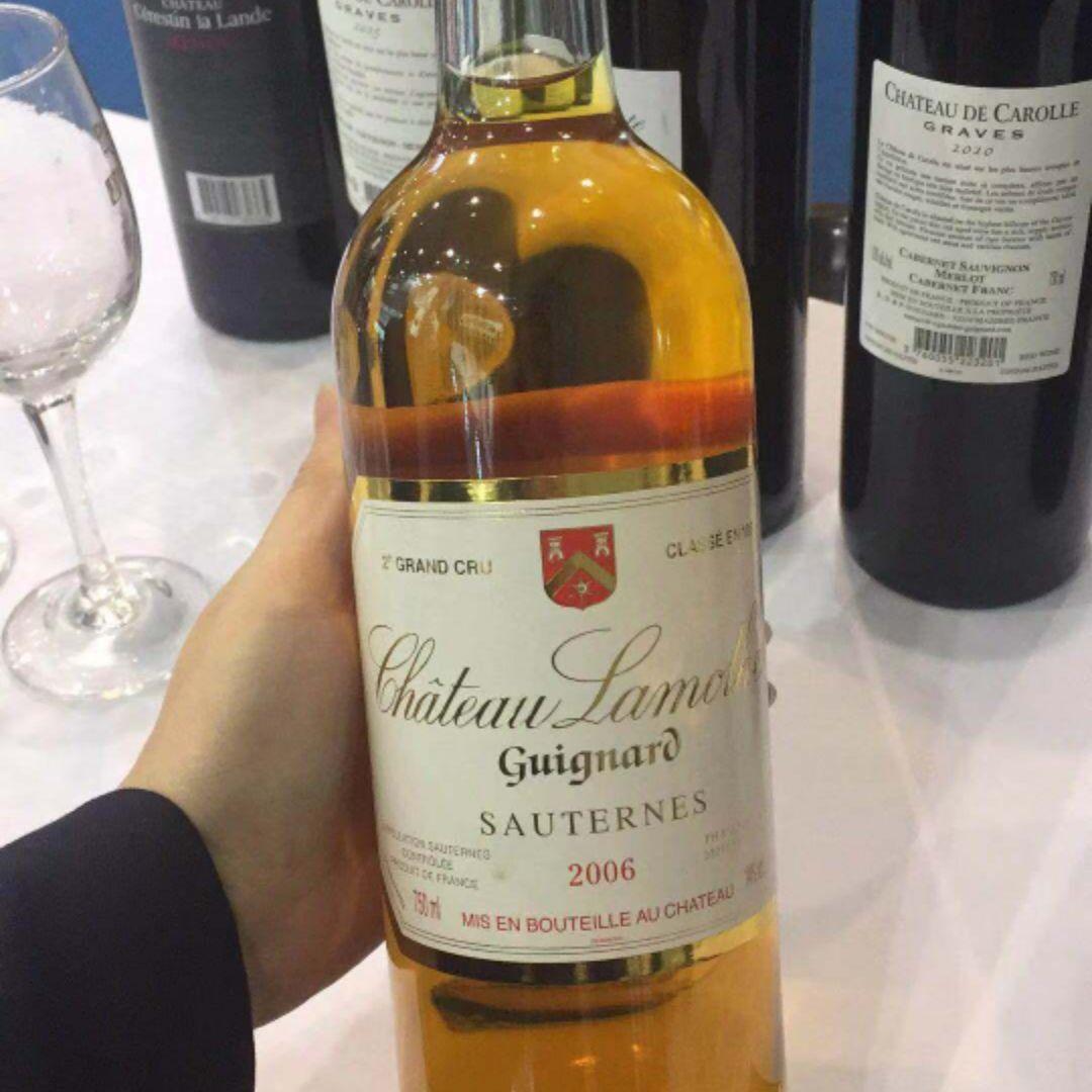 拉莫特齐格诺酒庄贵腐甜白Chateau Lamothe Guignard