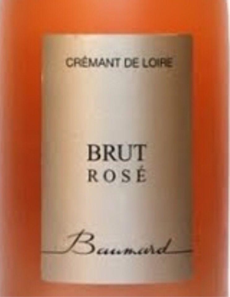 博马尔桃红起泡酒Domaine des Baumard Le Brut Rose