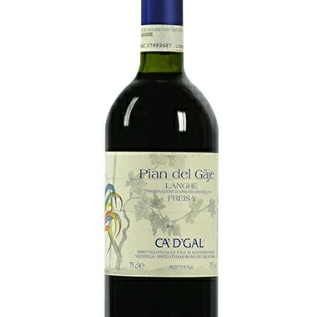 我的哥朗格红葡萄酒Ca'd'Gal Langhe Freisa