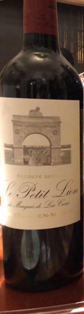雄狮酒庄副牌干红Le Petit Lion du Marquis de Las Cases