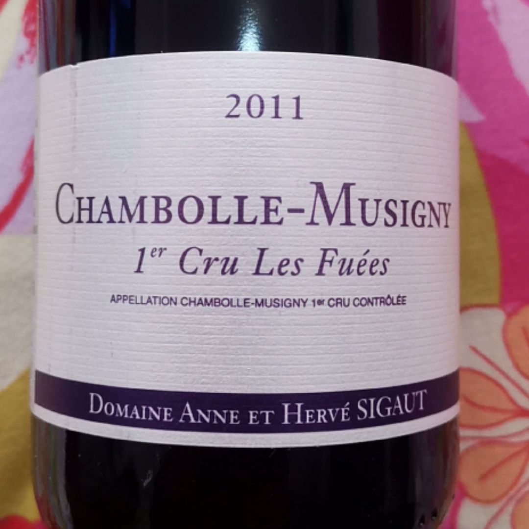 安溪酒庄香波蜜思妮一级园诺奥园干红Domaine Anne et Herve Sigaut Chambolle-Musigny 1er les Noiros