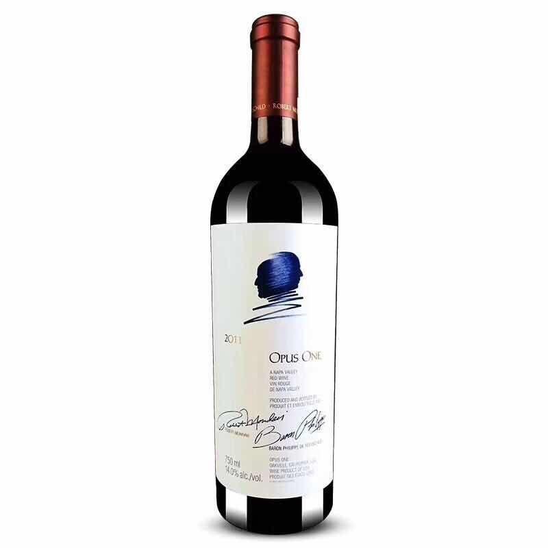 作品一号干红Opus One