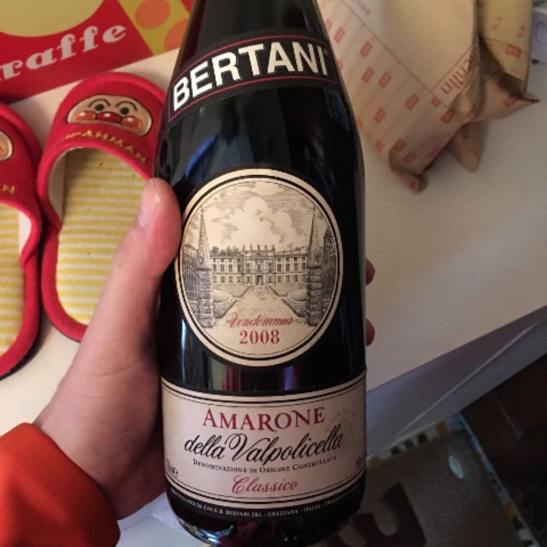 贝尔塔尼阿玛罗尼干红Bertani Vendemmia Amarone