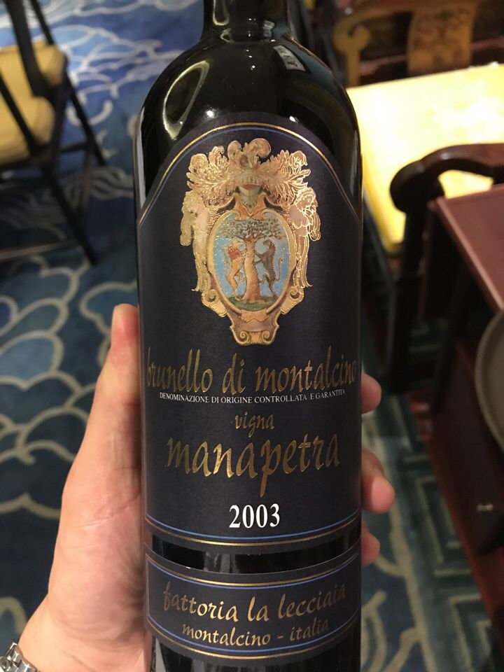 乐奇亚酒庄玛娜佩特园布鲁奈罗珍藏干红Fattoria la Lecciaia Brunello di Montalcino Vigna Manapetra Reserva