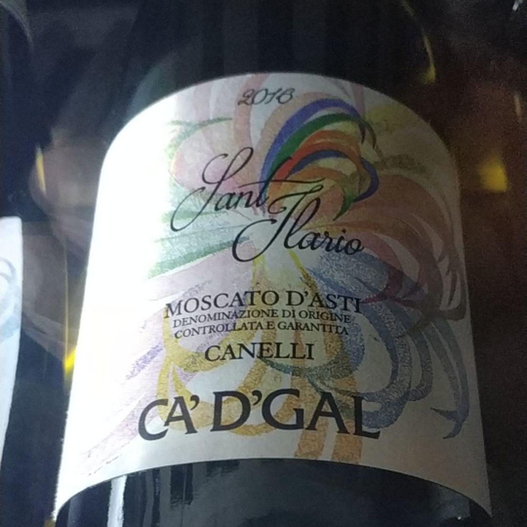 """我的哥""""深奥""""莫斯卡托阿斯蒂低醇起泡葡萄酒AZ.AGR.CA'D' GAL MOSCATO D'ASTI SANT'ILARIO"""