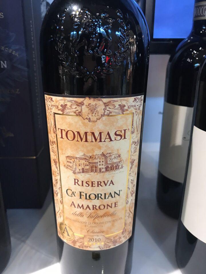 托马斯弗洛里安阿马罗尼珍藏经典干红 Tommasi Ca' Florian Amarone Riserve