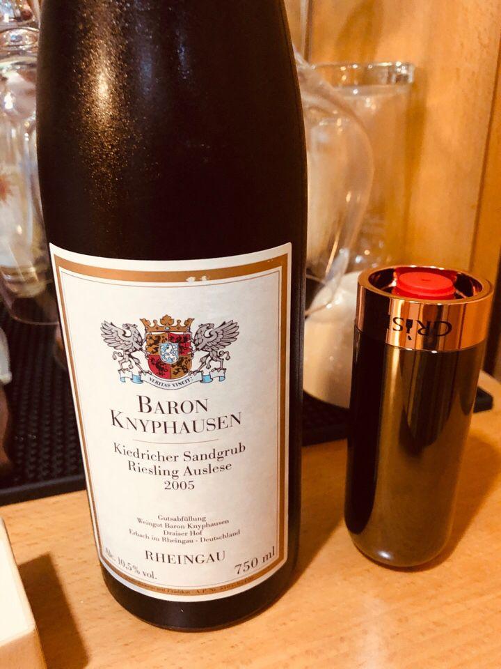 克尼普豪森晚收雷司令甜白Baron Knyphausen Kiedricher Sandgrube Riesling Spatlese