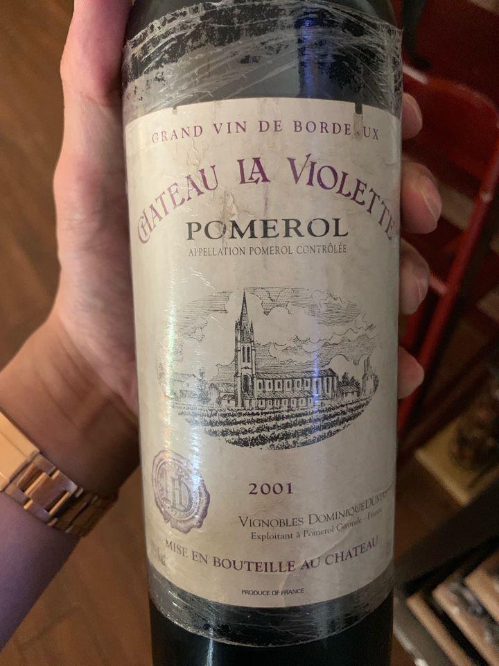 维奥莱酒庄干红Chateau La Violette