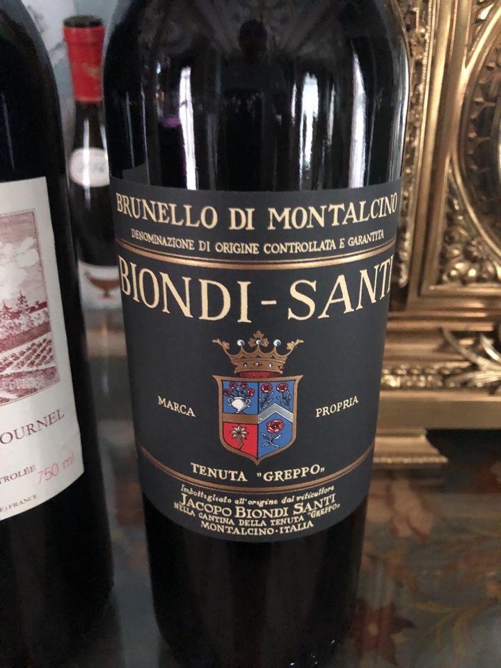 碧安帝山迪布鲁奈罗蒙塔希诺珍藏干红Franco Biondi Santi Brunello di Montalcino Riserva