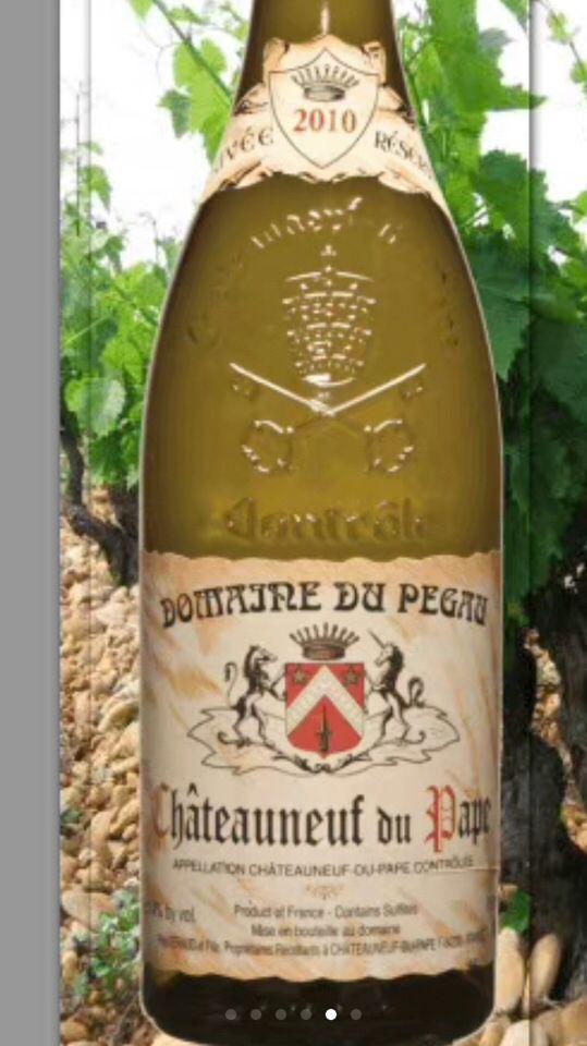 佩高珍藏特酿干白Domaine du Pegau Chateauneuf-du-Pape Cuvee Reservee Blanc