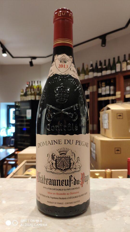 佩高酒庄教皇新堡干红葡萄酒Domaine du Pegau Chateauneuf du Pape Rouge Cuvee Reservee