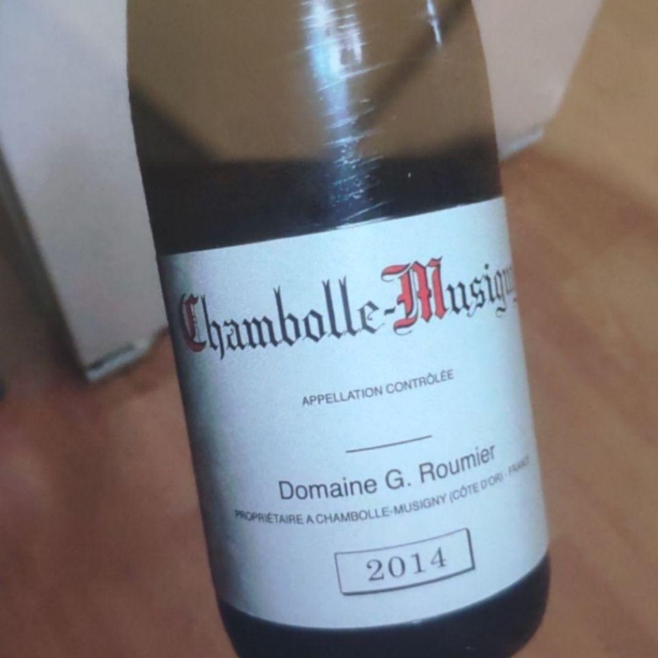 卢米慕西尼园香波-蜜思妮干红Domaine G. Roumier Chambolle-Musigny