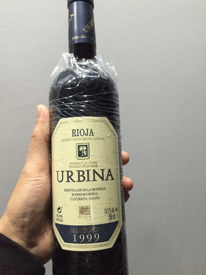 乌碧娜佳酿红葡萄酒URBINA Crianza