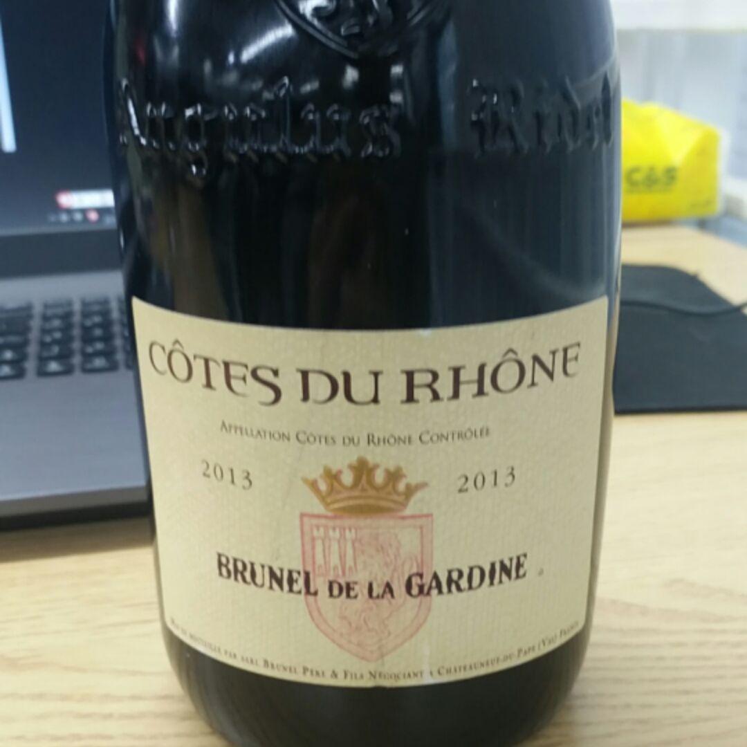 卡丁布奈隆河丘干红Brunel De La Gardine Cotes du Rhone