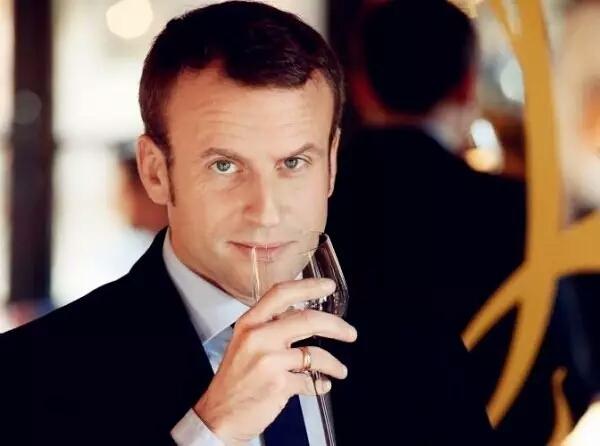 学霸,富豪,师生恋,法国新总统竟然还是个葡萄酒专家!