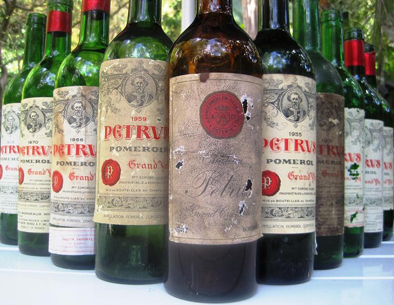 传奇的酒王之王——柏图斯