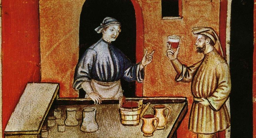 有个人穿越回古代喝酒,差点气吐了……