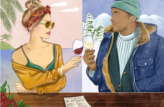 葡萄酒:冷凉气候VS温暖气候