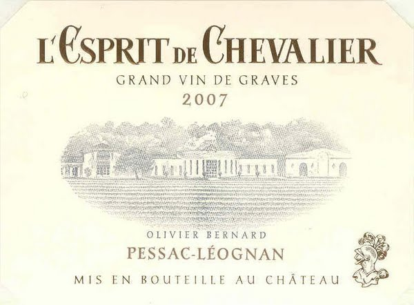 骑士精神干白L'Espirit de Chevalier Blanc