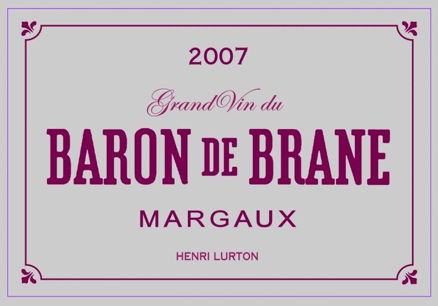 布莱恩男爵干红Le Baron de Brane
