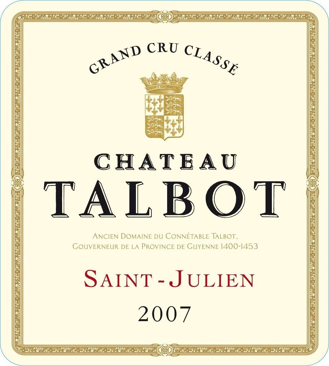 大宝酒庄干红Chateau Talbot