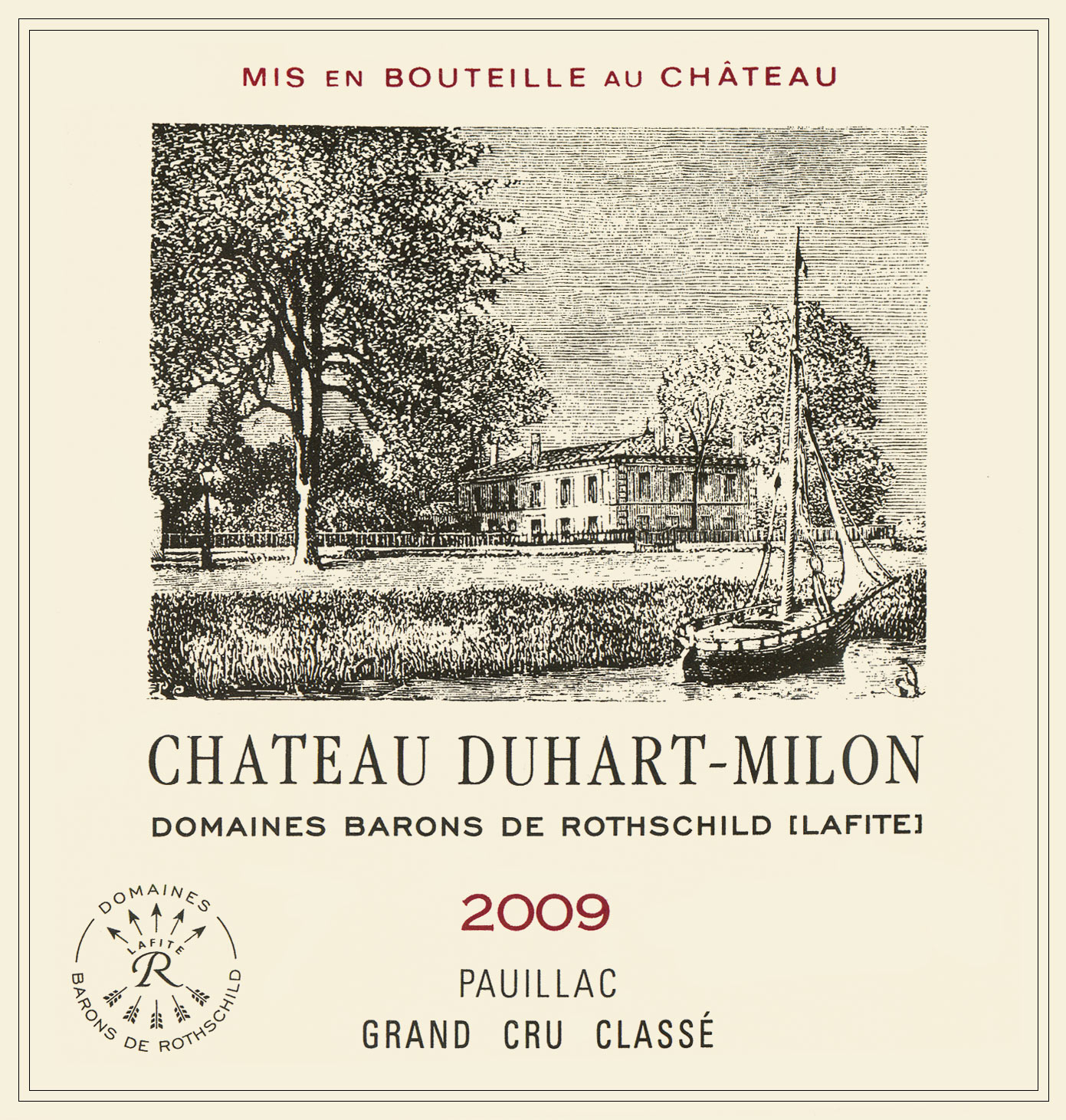 都夏美隆酒庄干红Chateau Duhart-Milon
