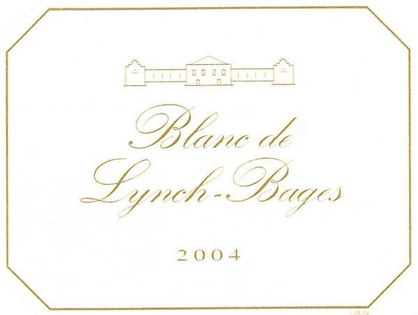 靓茨伯酒庄干白Blanc de Lynch-Bages