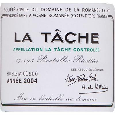罗曼尼·康帝塔希园干红Domaine de La Romanee-Conti La Tache