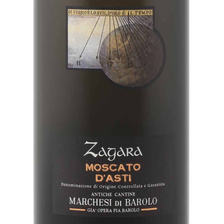 巴罗洛侯爵绽放莫斯卡托起泡Marchesi di Barolo Zagara Moscato d'Asti