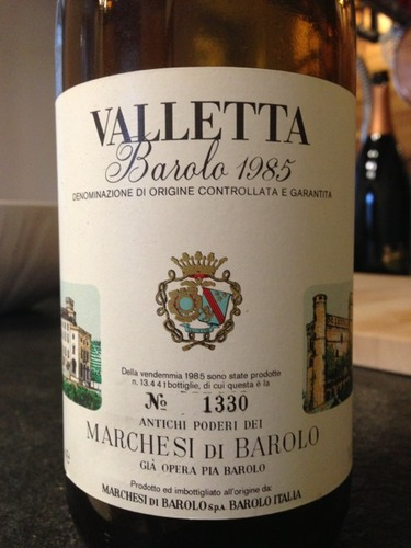 巴罗洛侯爵瓦莱塔巴罗洛干红Marchesi di Barolo Barolo Valletta